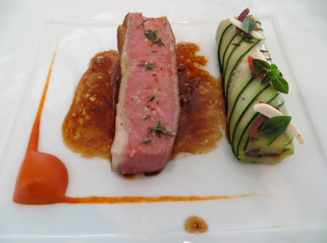 Epicure at Le Bristol Paris Restaurant Review - Lamb from Aveyron