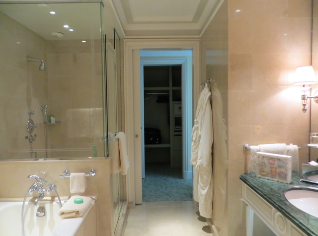 Four Seasons Paris Review-Four Seasons Suite Bathroom