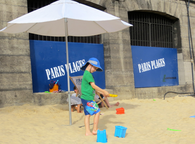 Paris Plages-Paris Beaches-Sand Fun