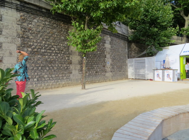 Paris Plages-Paris Beaches - Boules