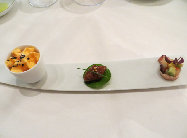 Le Cinq at Four Seasons Paris Restaurant Review - Amuse Bouche