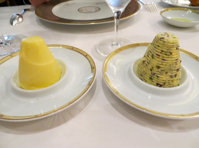 Le Cinq at Four Seasons Paris Restaurant Review - Butter and Seaweed Butter