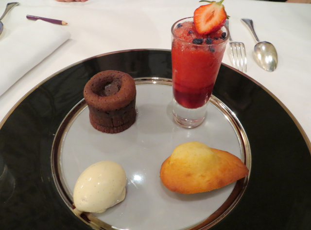 Le Cinq at Four Seasons Paris Restaurant Review - Quartet of Desserts, Kids Menu