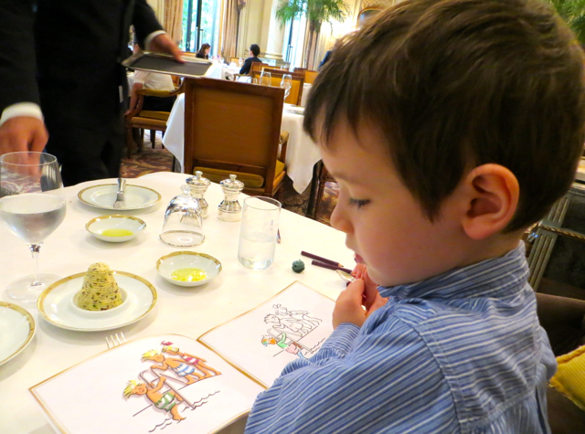 Le Cinq at Four Seasons Paris Restaurant Review - Coloring Book, Les Triples au George V
