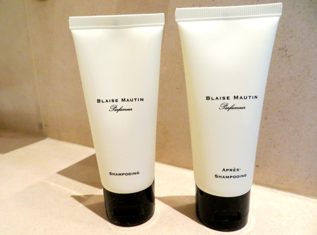 Park Hyatt Vendome-Paris Review - Blaise Mautin Bath Amenities