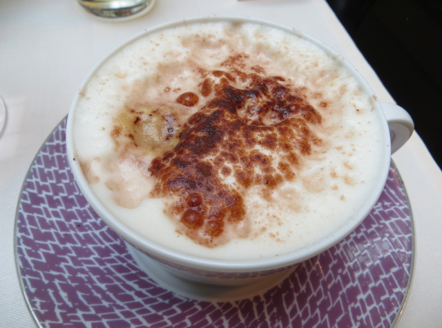 Park Hyatt Paris Breakfast Buffet Review - Cappuccino