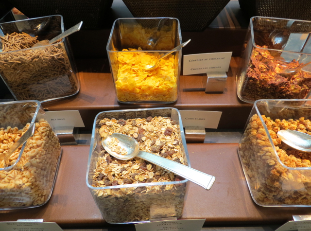 Park Hyatt Paris Breakfast Buffet Review - Cereals