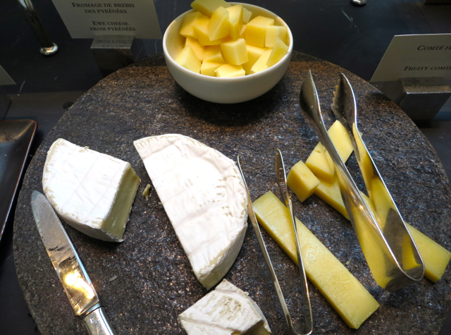 Park Hyatt Paris Breakfast Buffet Review - Cheeses