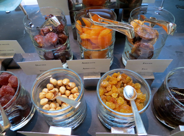 Park Hyatt Paris Breakfast Buffet, Dried Fruit