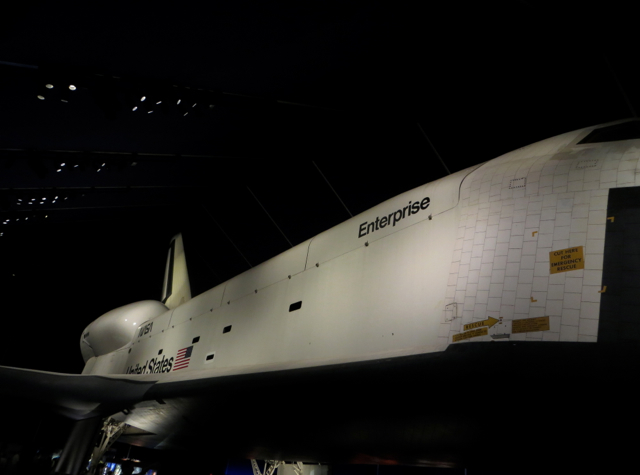 space shuttle enterprise in nyc - photo #28