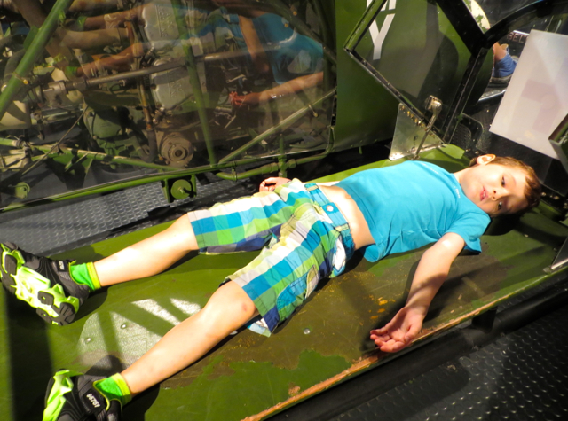 Intrepid Museum Review, NYC-Wounded Soldier Transport