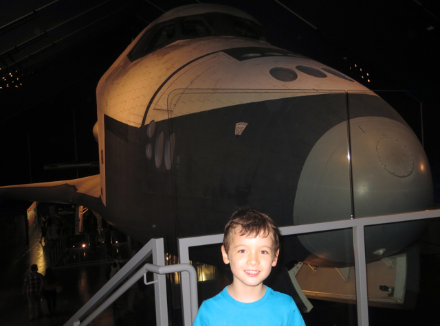 Intrepid Museum NYC Review - Space Shuttle Enterprise