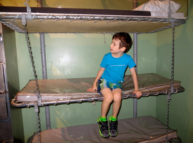 Intrepid Museum NYC Review - Bunk Beds