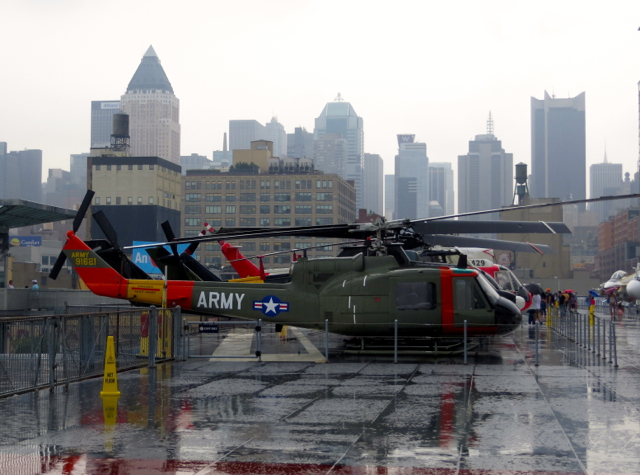 Intrepid Museum NYC Review - Helicopters on Flight Deck