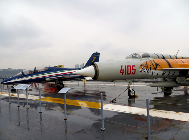 Intrepid Museum NYC Review - Mikoyan-Gurevich_MiG-21
