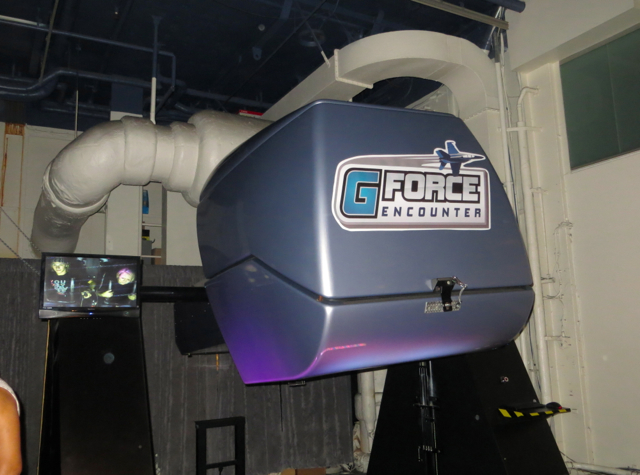 Intrepid Museum NYC Review - G-Force Simulator
