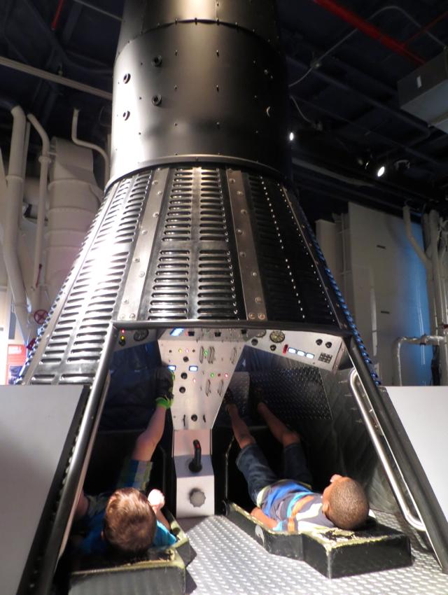 Intrepid Museum Review, NYC - Gemini Space Capsule