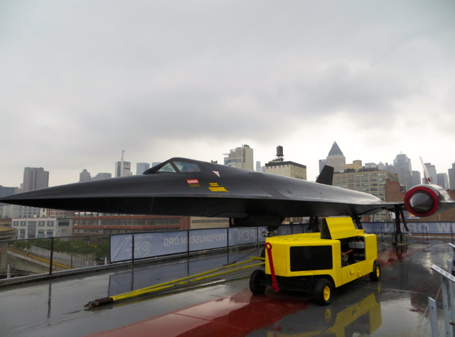 Intrepid Museum NYC Review - Lockheed A-12 Blackbird