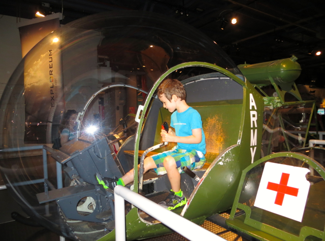 Intrepid Museum NYC Review - Army Helicpoter