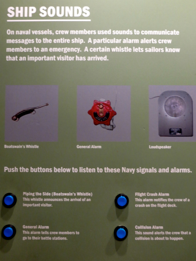 Intrepid Museum NYC Review - Ship Alarms