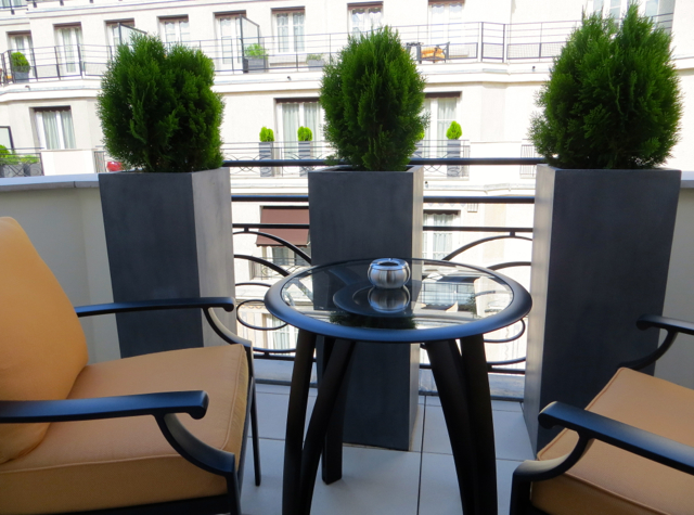 Prince de Galles Paris Hotel Review - Art Deco Deluxe Room Terrace