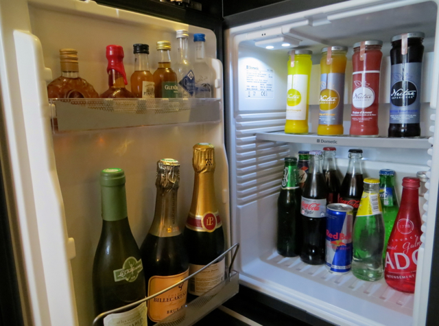 Prince de Galles Paris Hotel Review-Minibar