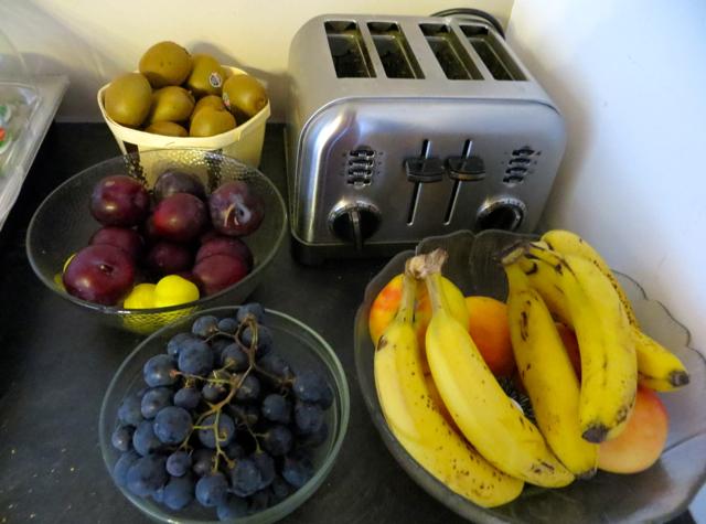 La Grand Eperviere Barcelonnette France Hotel Review - Breakfast Fruit
