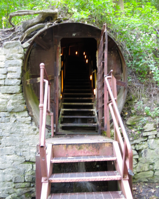 What to Do in Lockport, NY - Entrance to Lockport Cave