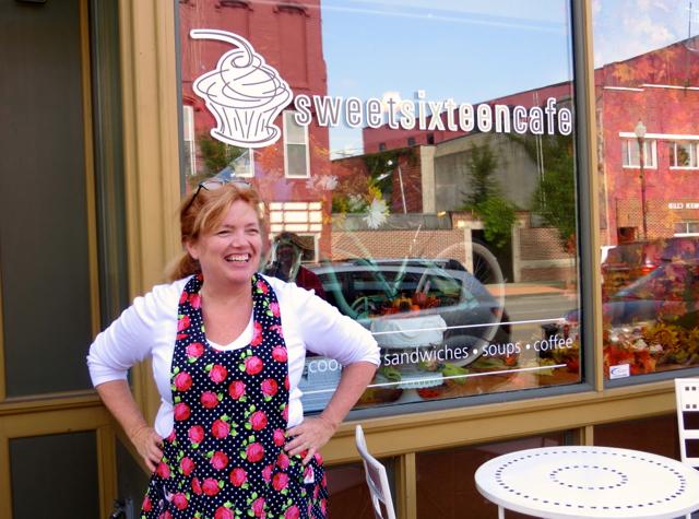 What to Do in Lockport - Ellen Martin, Sweet Sixteen Cafe