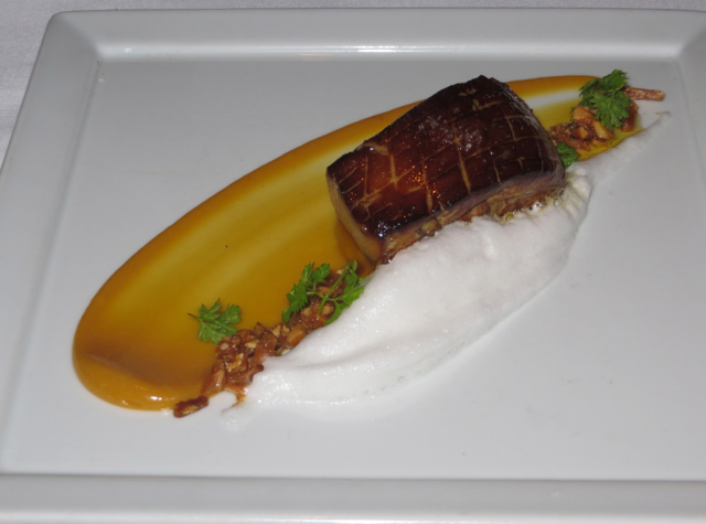 Gotham Bar and Grill NYC Restaurant Review - Seared Hudson Valley Foie Gras