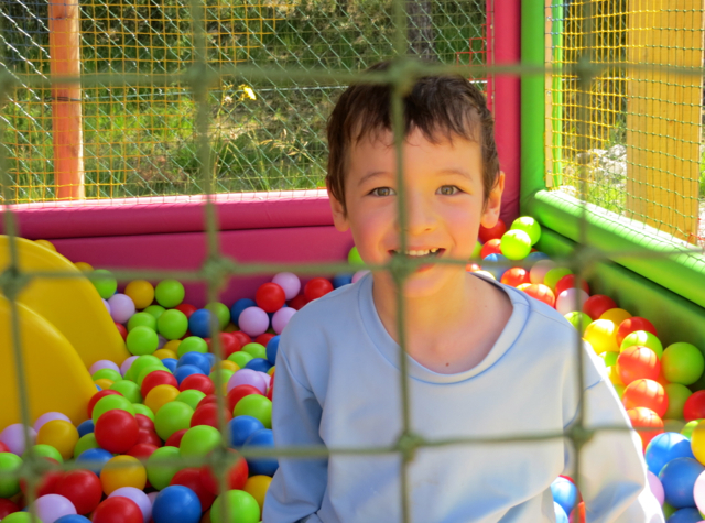 Things to Do in Barcelonnette, France with Kids - Ball Pit at Kids' Play Park