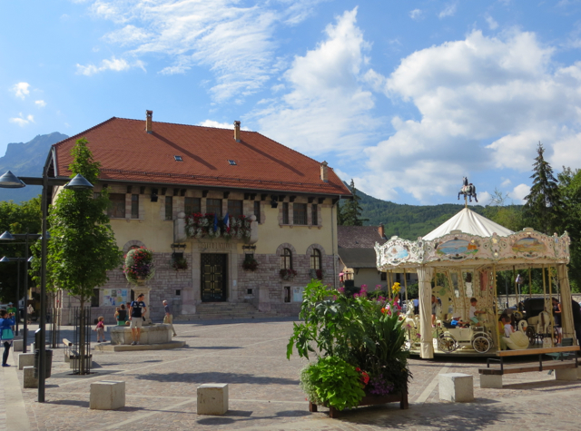 Things to Do in Barcelonnette, France with Kids - Carousel at Town Square