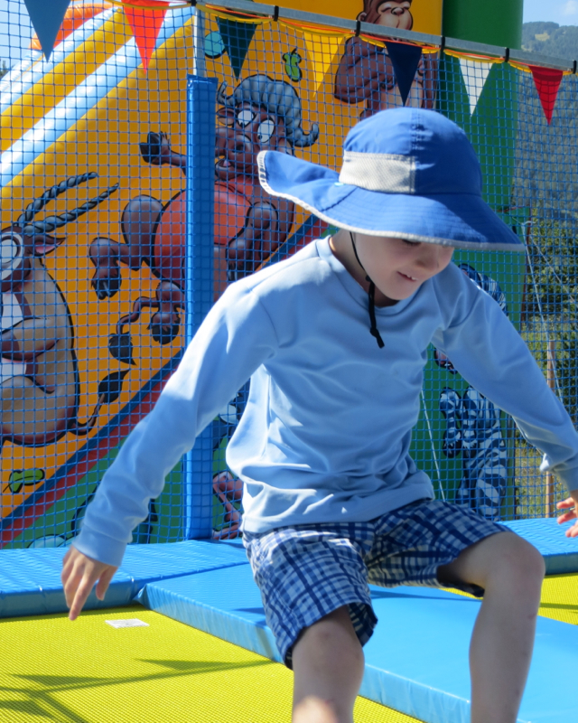 Things to Do in Barcelonnette, France with Kids - Trampolines