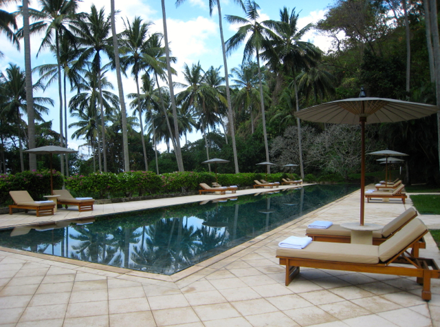Amankila Ocean Suite Review, Bali - Beach Club Pool