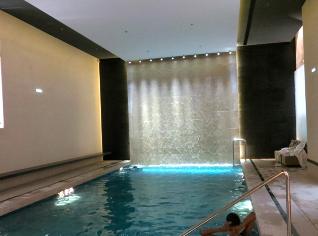 InterContinental Marseille Hotel Dieu Review - Spa Swimming Pool