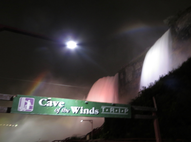 Cave of the Winds Niagara Falls Review - Entrance