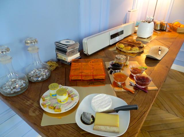 Maison Stella Cadente Review-Provins, France-Buffet Breakfast