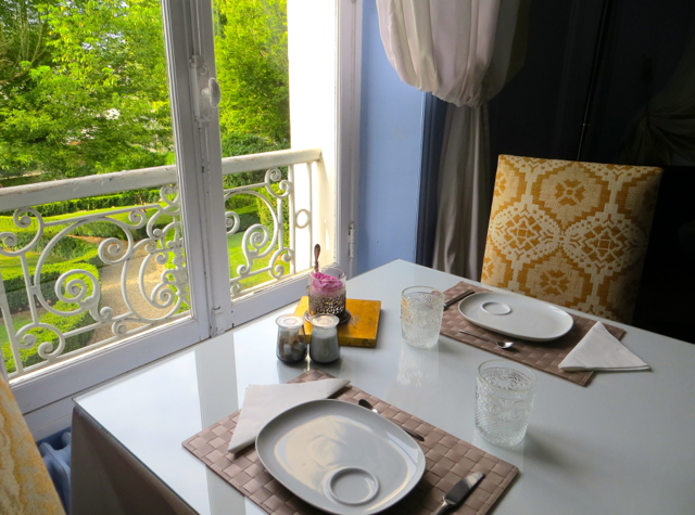 Maison Stella Cadente Review-Provins, France-Breakfast Table