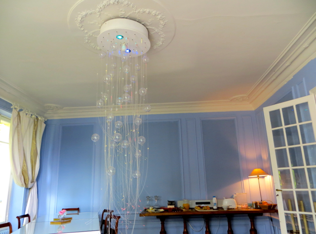 Maison Stella Cadente Review-Provins, France-Dining Room