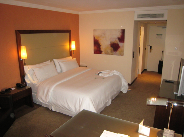 Westin Grand Frankfurt Hotel Review - Deluxe Room with King Bed