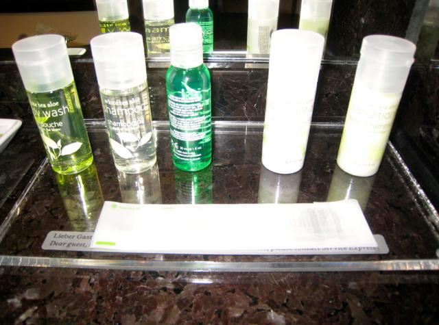Westin Grand Frankfurt Hotel Review - White Tea Aloe Bath Amenities