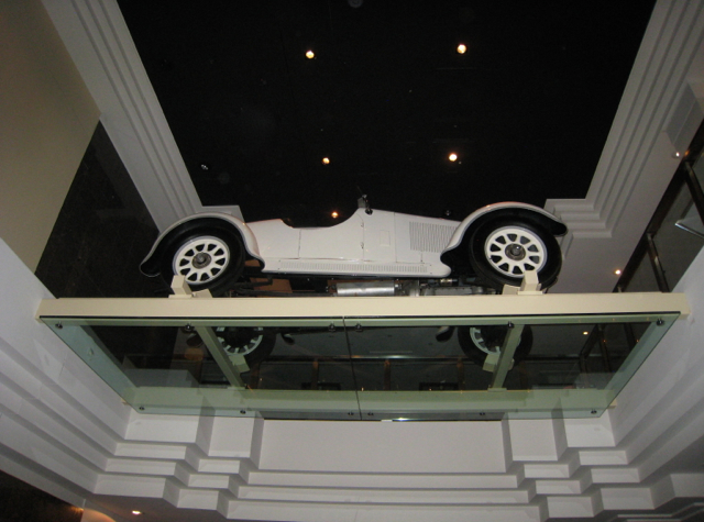 Westin Grand Frankfurt Hotel Review - Vintage Car on Balcony
