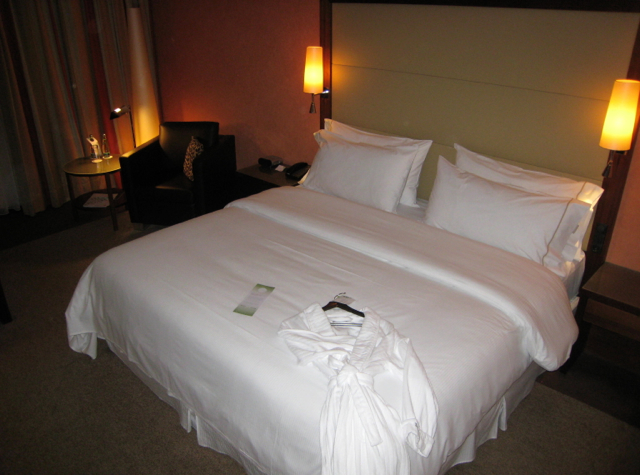 Westin Grand Frankfurt Hotel Review - Deluxe Room King Bed