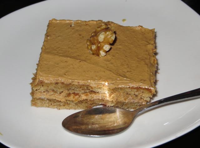 Oda House NYC Restaurant Review - Ideali Honey Walnut Cake