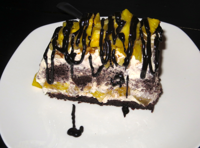 Oda House NYC Restaurant Review - Pineapple Cake