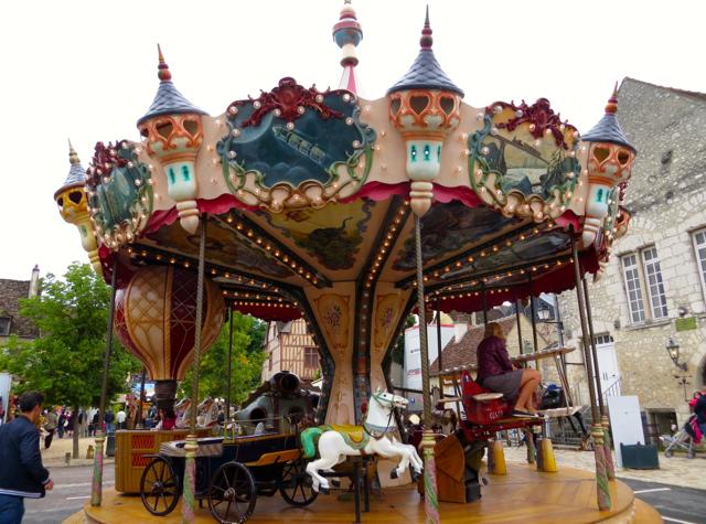 Provins, France Carrousel