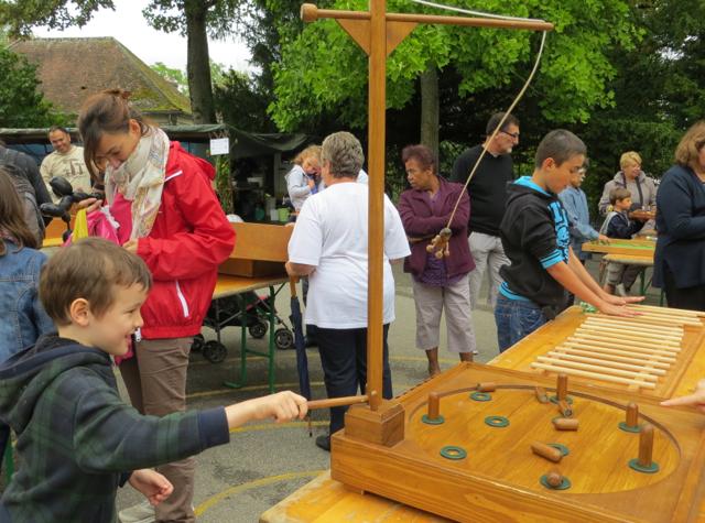 Provins, France Fete de la Moisson Harvest Festival - Kids' Games