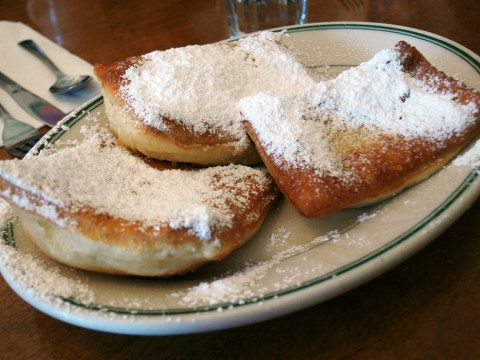 Beignets at Just For You Cafe, San Francisco