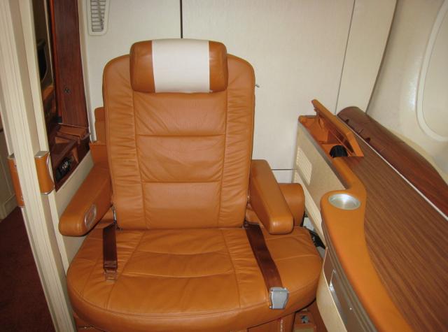 Singapore Suites - Suite 3A Seat