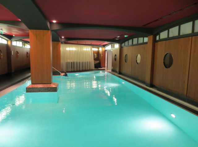 Hotel Fouquet's Barriere Paris Review - Swimming Pool